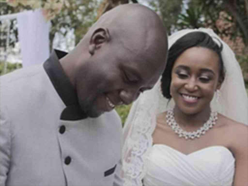 Dennis Okari and Betty Kyalo.