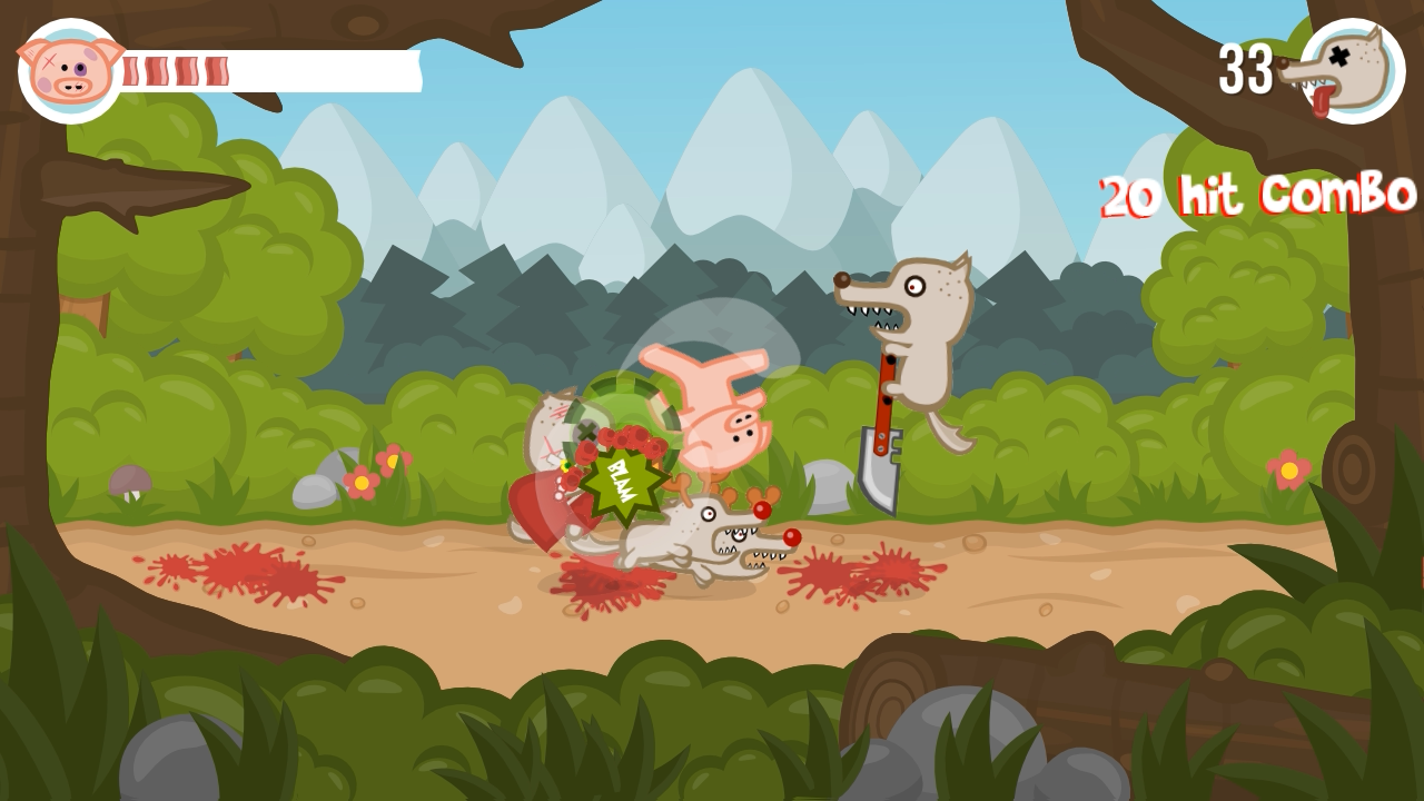 Iron Snout+ Pig Fighting Game- screenshot