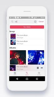 iMusic Phone 8 - Music OS 11 - náhled