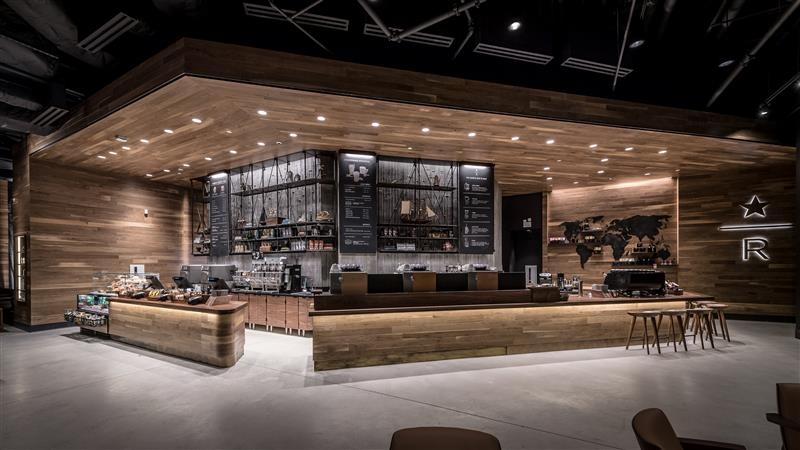 Starbucks Nasıl Tasarlanıyor? Doğru Malzemeleri Harmanlayarak 8