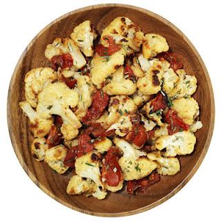 Roasted Cauliflower and Tomatoes.