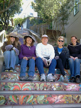 Photo: Part of the group of Hidden Garden Steps garden volunteers (Licia Wells, Connie Ngarangad, Judy Riggle, Anica Wensman, and Lynn Kane onsite (16th Avenue, between Kirkham and Lawton streets in San Francisco's Inner Sunset District) at the end of the May 10, 2014 Steps clean-up and garden-maintenance event. New and returning volunteers are welcome to join these volunteer-driven community-based efforts on the second Saturday of each month from 1- 3 pm.   For more information about the Steps, please visit our website (http://hiddengardensteps.org), view links about the project from our Scoopit! site (http://www.scoop.it/t/hidden-garden-steps), or follow our social media presence on Twitter (https://twitter.com/GardenSteps), Facebook (https://www.facebook.com/pages/Hidden-Garden-Steps/288064457924739) and many others.