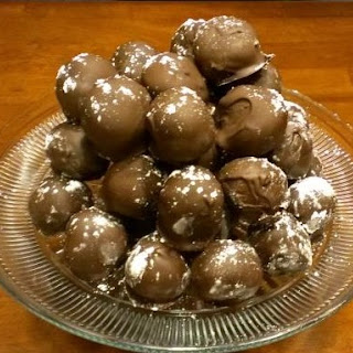 Triple Chocolate Cake Balls.