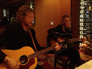 Photo: Intimate performance at the Ruth's Chris Steak House in Tampa.