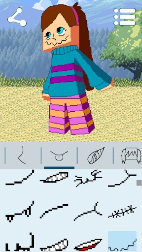 Avatar Maker: Cube Games 3.3.3 screenshots 22