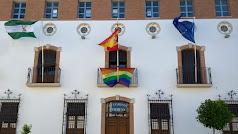 Fachada del Ayuntamiento de Purchena.