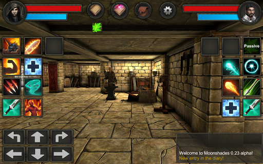 Moonshades: a dungeon crawler RPG 1.4.10 screenshots 4