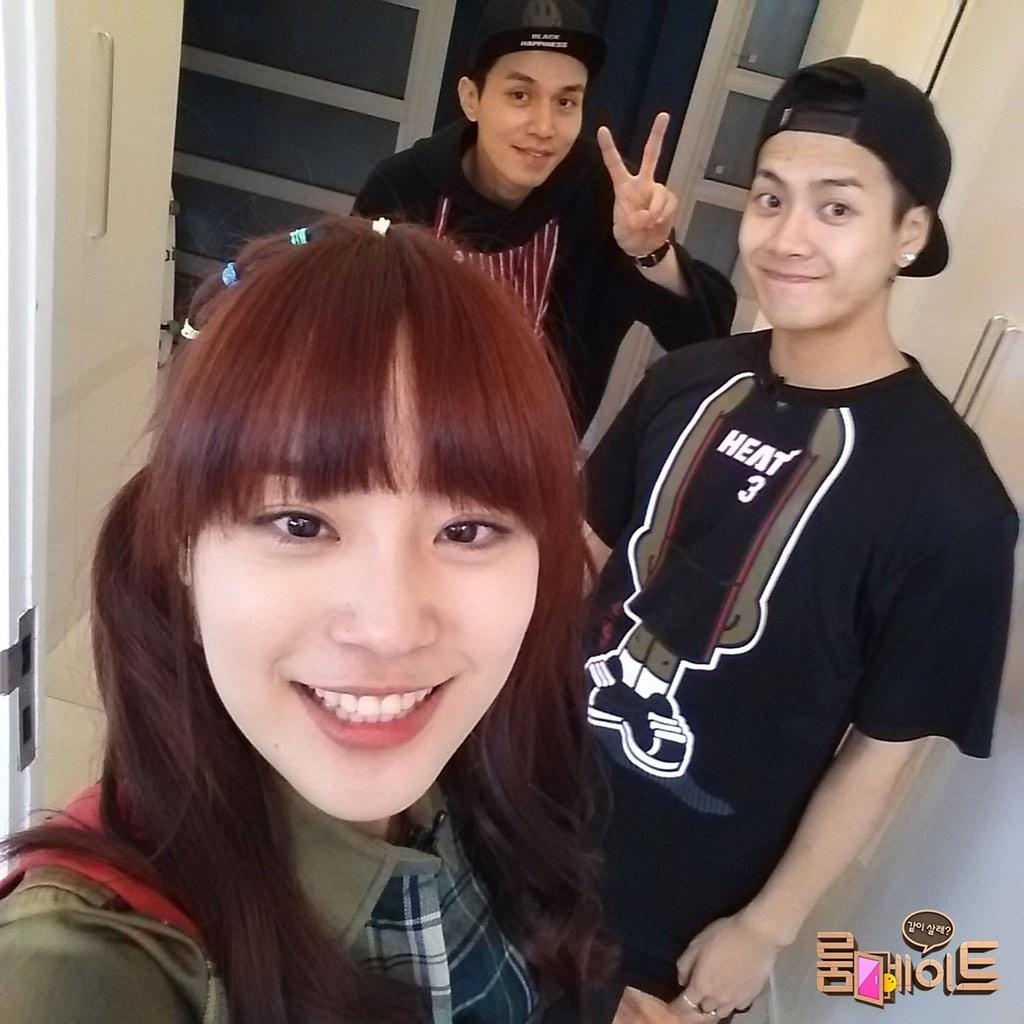 jackson youngji dongwook roomate