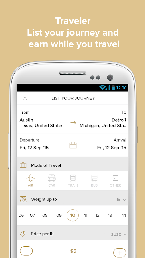 Zaldee - earn while you travel- screenshot