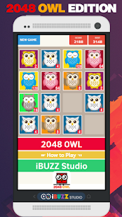 2048 Owl Edition Game - náhled