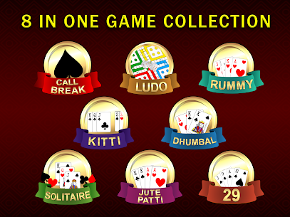 Callbreak, Ludo, Online Rummy, 29 & Solitaire Card Games App Download For Android and iPhone 9