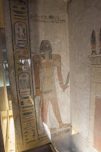 Photo: QV44 Tomb of Khaemwaset - guardian of 15th gate - Nehes-her-per-am-duat