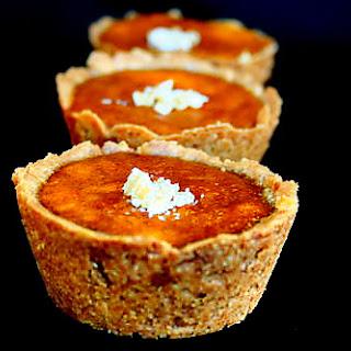 Recipe for Pumpkin Mini Pies in a Whole Wheat Ginger Crust