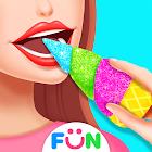 ASMR Unicorn Cone Dessert-Fun Games for Girls
