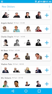 App New Stickers For WhatsApp - WAStickerapps Free APK for Windows Phone