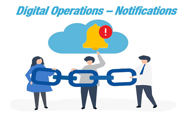 Digital Ops - Notifications