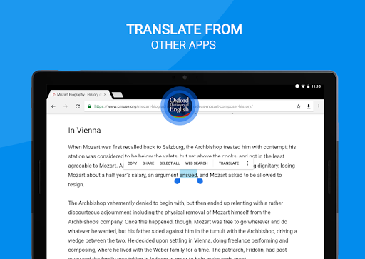 Screenshot for Oxford Dictionary of English Full in Hong Kong Play Store