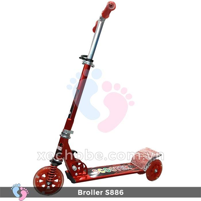 Xe trượt Scooter Broller S886 1