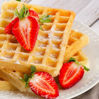 High-Protein, Low-Carb Waffles.