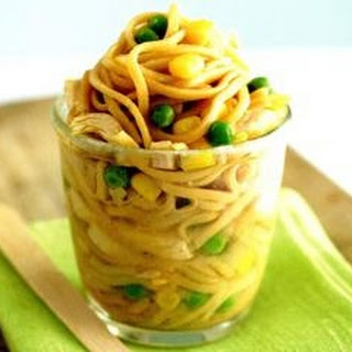 Home-made Pot Noodles.