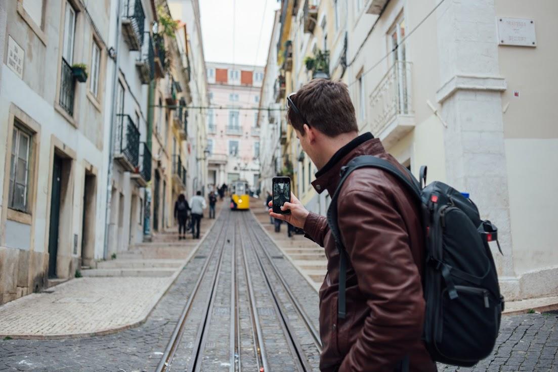 villamos, Lisszabon, emelkedő