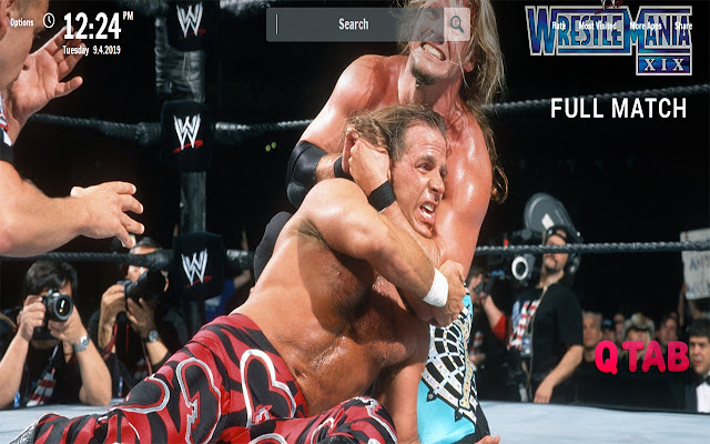 HBK New Tab WWE Wallpapers
