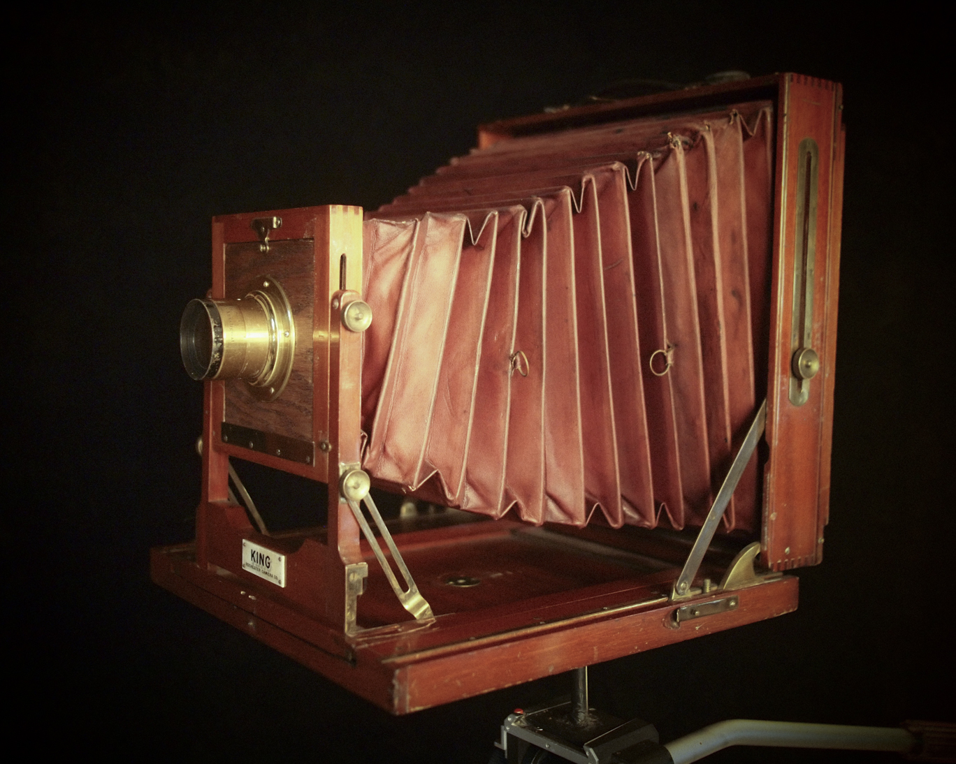 Photo: Vintage Rochester View Camera – Rochester 8x10 Rock. c.1895-1903