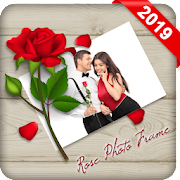 Rose Photo Frame - Flower Photo Editor - 1000+