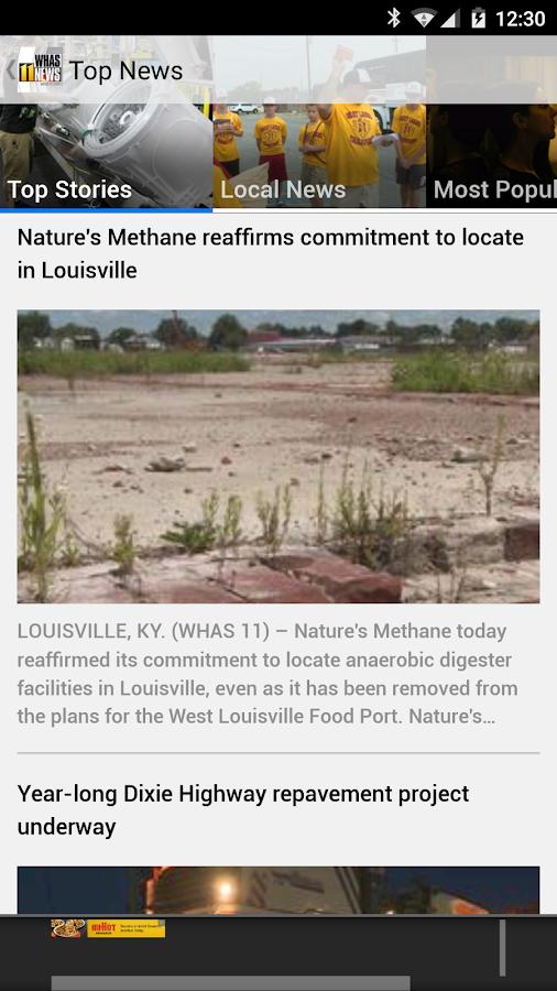 WHAS11 Louisville News- screenshot