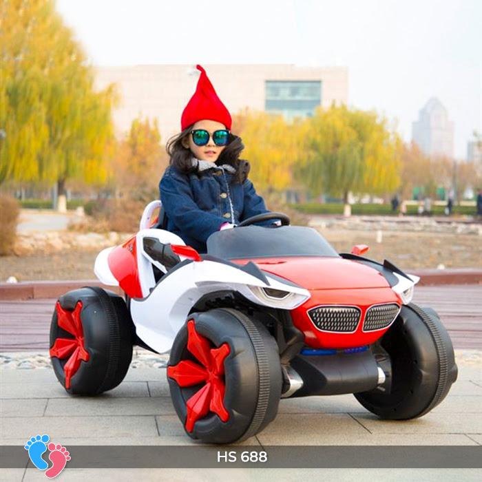 Xe ô tô điện địa hình cho bé hs-688 13