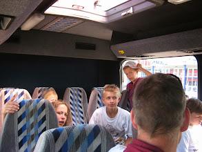 Photo: Hjem i bussen fra Frederikshavn