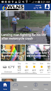 WLNS 6 News | Lansing, Jackson- screenshot thumbnail