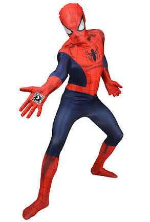 Morphsuit, Spiderman zappar