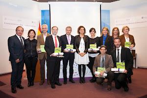 Caparrós recibe el premio NAOS por promocionar la alimentación saludable