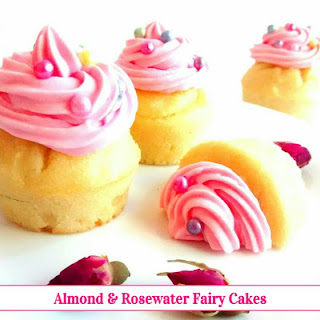 Almond & Rosewater Fairy Cakes