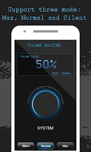 Volume booster - No root - náhled