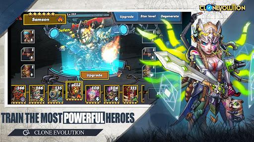 Clone Evolution: Cyber War-Borderlands Fantasy 1.4.9 screenshots 3