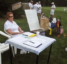 Photo: Grace ready to sign in tournament participants