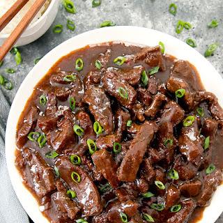 Instant Pot Mongolian Beef.