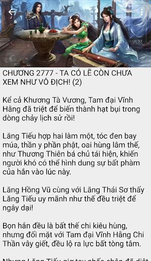 Than khong thien ha Truyen tien hiep full offline 2.7 screenshots 2