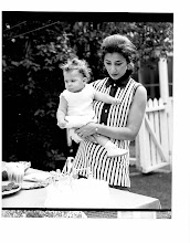 Photo: Me and Mom - my first birthday