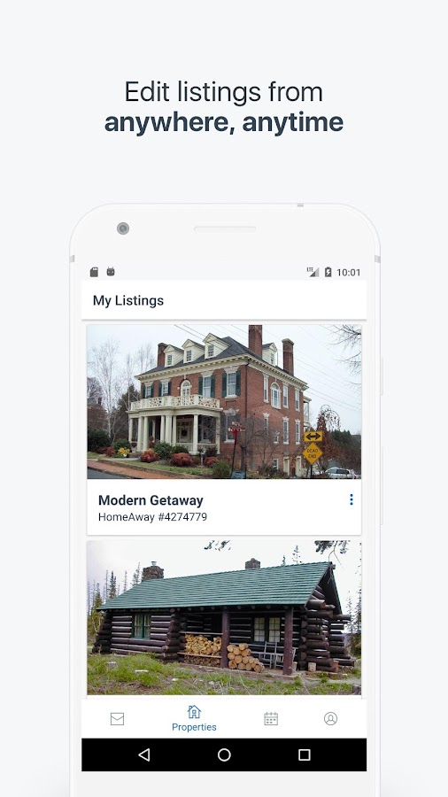 HomeAway VRBO Owner App- screenshot