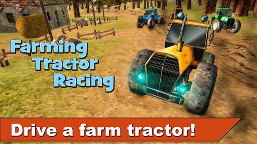 Farming Tractor Racing 3D