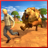 Angry Lion City Attack Android APK Download Free By Super Smash Act