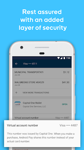 Screenshot 3 for Google Wallet's Android app'