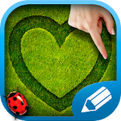 Download Draw on the grass Free APK on PC