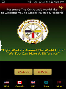 Global Assoc of Psychics & Hea- screenshot thumbnail