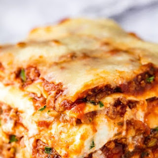 The Most Amazing Lasagna.