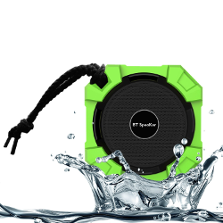 Monstercube Armor Portable Wireless Waterproof Bluetooth Speaker, Hi-Deff Bass Sound with Build-in Microphone, Waterproof, Shockproof, Dustproof, Rugged, Work for iPhone 6 plus 5s, 5c, 4, iPad mini, iPad