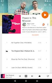Google Play Music Screenshot 11